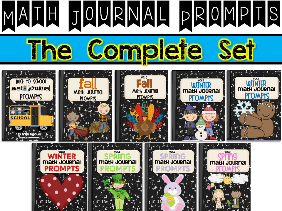 http://www.teacherspayteachers.com/Product/Math-Journal-Prompts-The-Complete-Set-243016