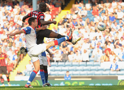 Mario Balotelli Blackburn Rovers vs Manchester City Barclays Premier League
