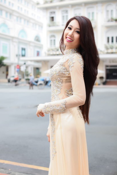 Ảnh gái đẹp diệu dàng trong tà áo dài 23