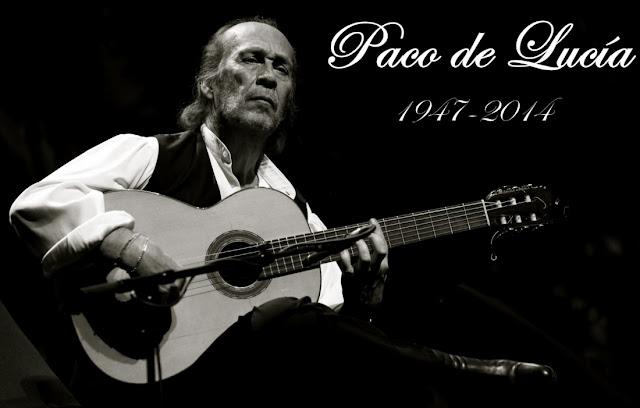 Fallecimiento del guitarrista flamenco Paco de Lucía