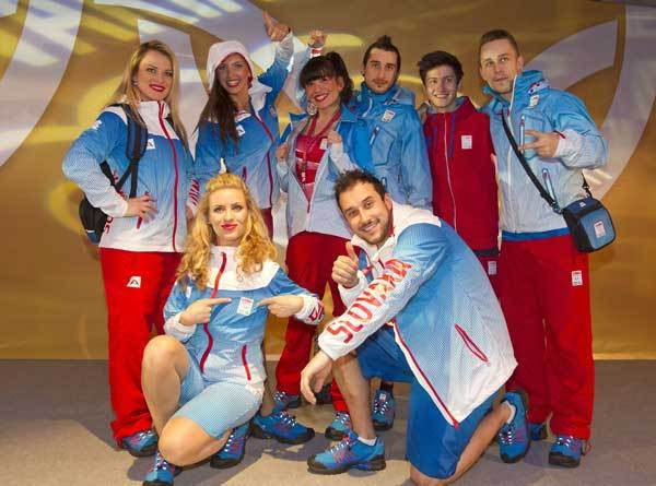 Slovakia olympic sailing team uniform