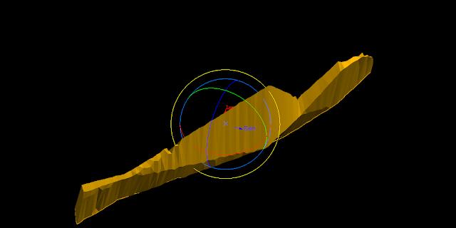 Maptek Vulcan Rotate Function