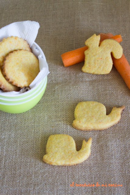 galletas de zanahoria