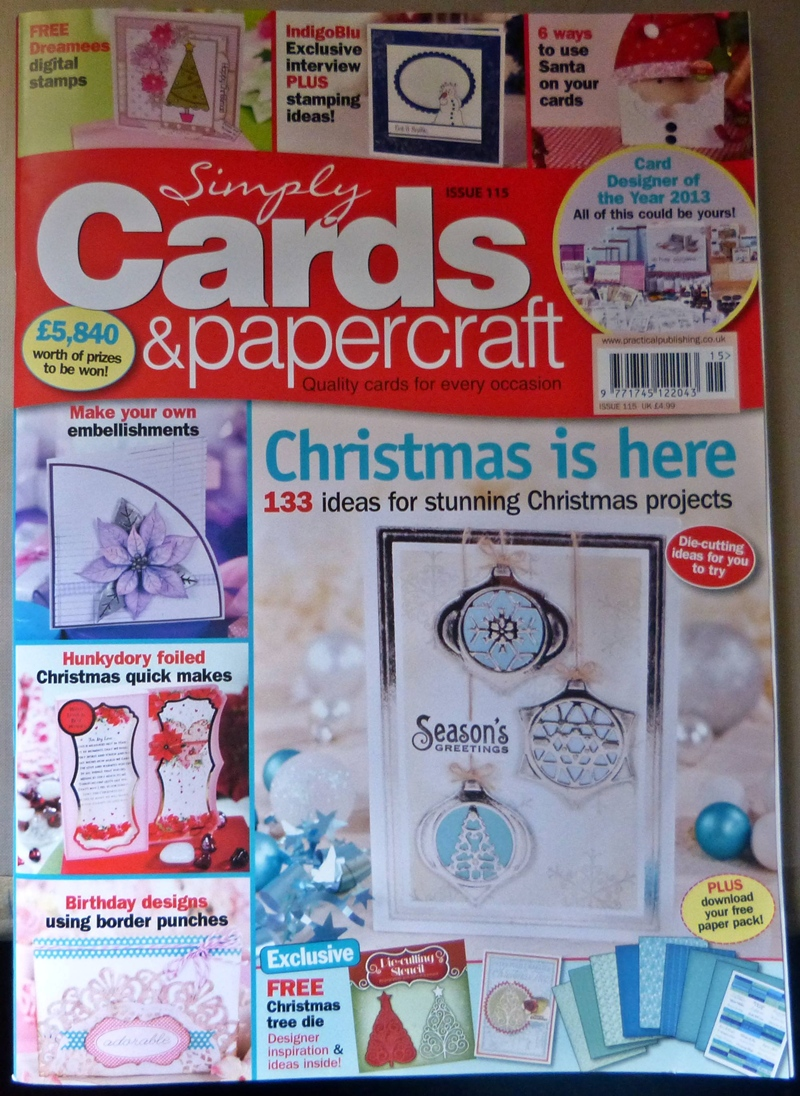 Published in Simply Cards & Papercrafts