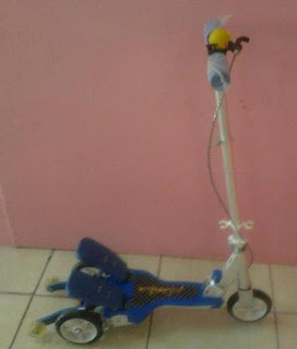 jual electric scooter indonesia