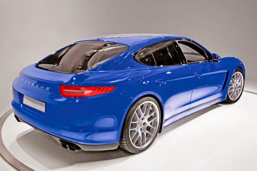 Waiting For Porsche Pajun All Electric Car