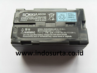 Jual Battery Sokkia BDC58