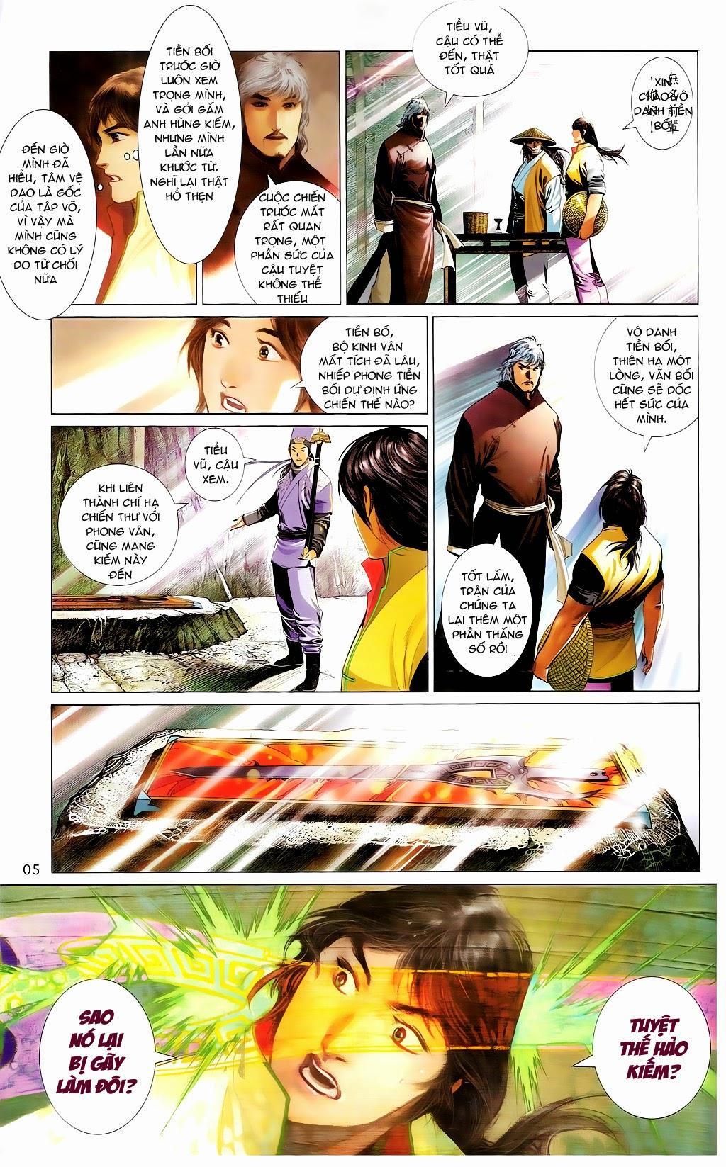 Phong Vân Chap 665 - Trang 4