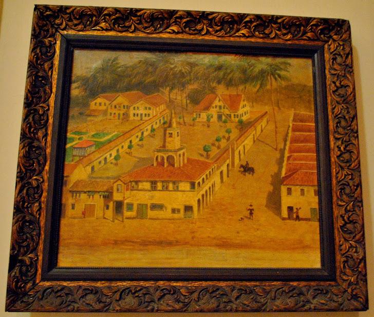 1ª Casa de Nassau no Recife - Quadro do IAHGP