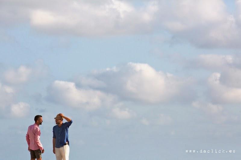 horizonte con nubes
