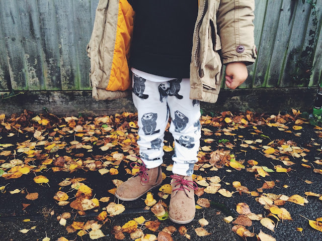 Born Free and Me Boys Leggings