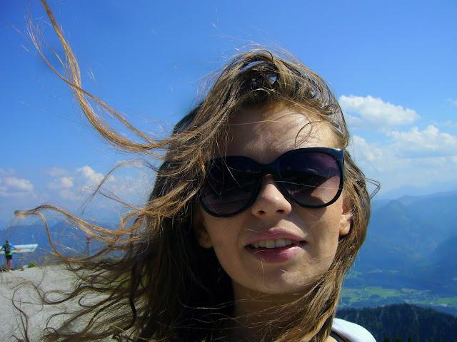 вид с горы шафберг в австрии