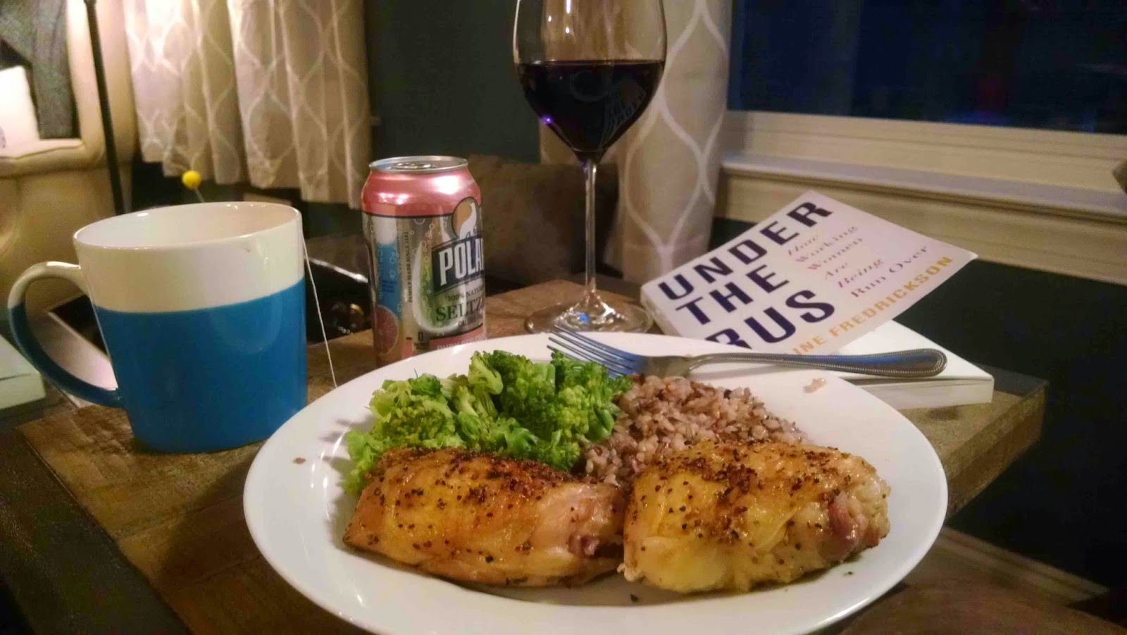 dinner and a book