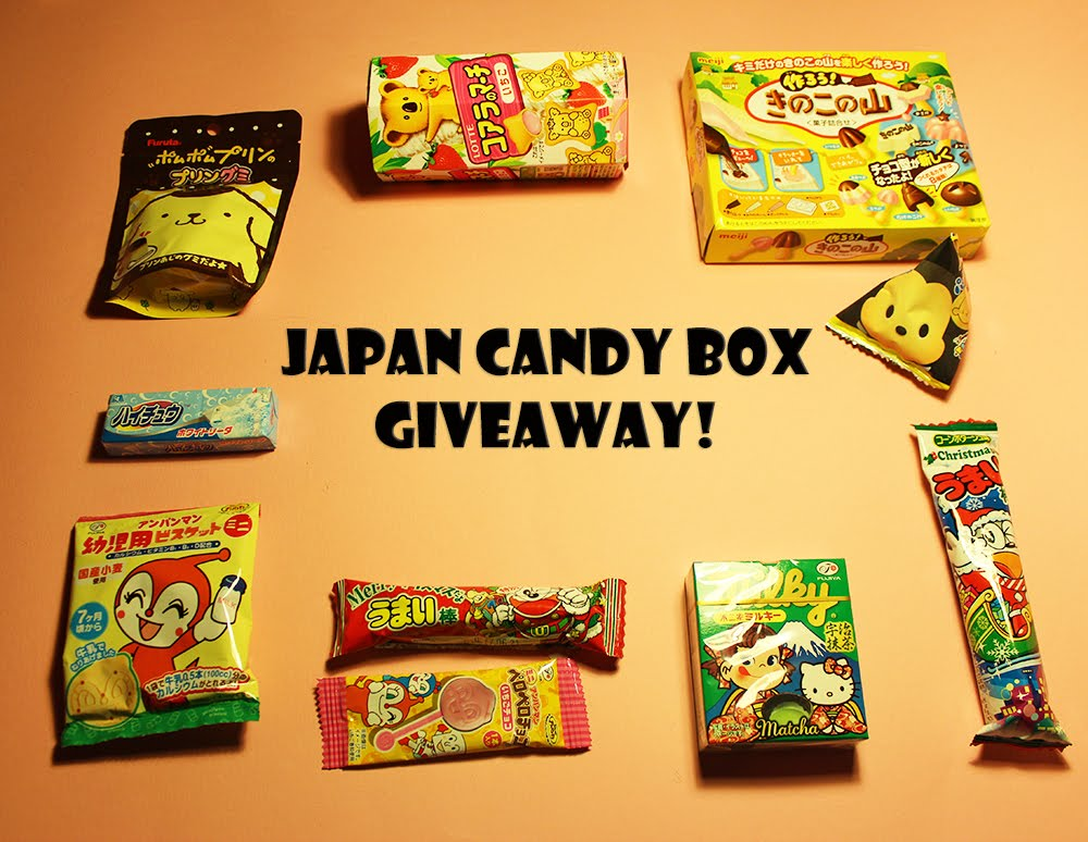 Win Japan Candy Box!