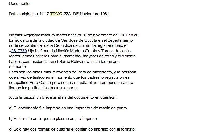 mesa redonda contracomunista: Aquí está la PARTIDA DE BAUTIZO de ...