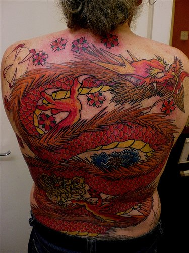 Western Dragon Tattoo Designs