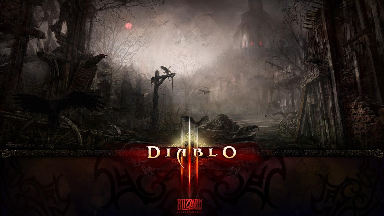 Diablo 3 PS3 Wallpaper