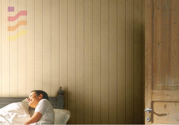 aranżacja sypialni tapeta