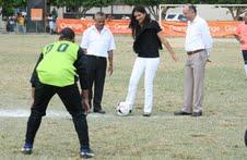 Inauguran torneo de fútbol de Espaillat