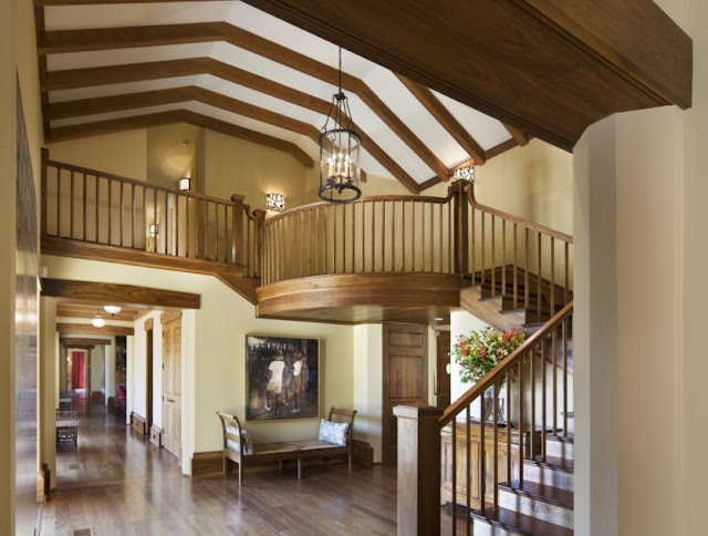 New home interior design robert a m stern residence in for Interior design house oakville