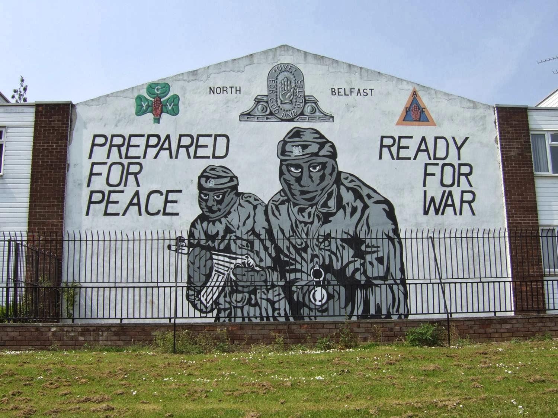 Christy harrington murals of northern ireland for Mural northern ireland