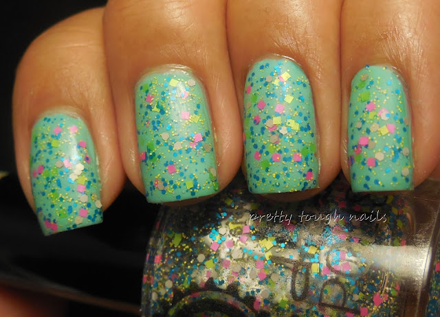 Pipe Dream Polish Moving Sidewalks Over NYC Pool Time Matte