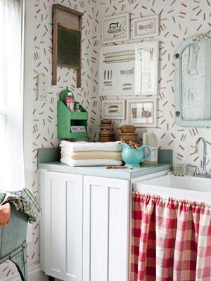 Cosas de palmichula decorando el lavadero de manera pr ctica for Lavadero decoracion
