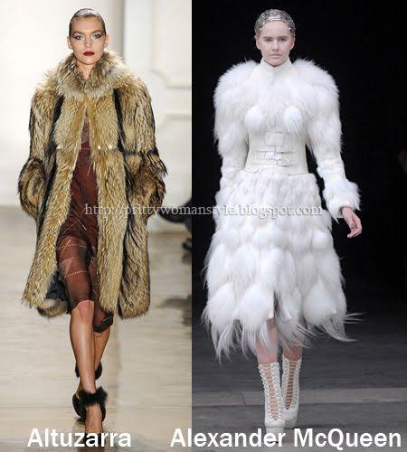 дълги кожени палта зима 2012