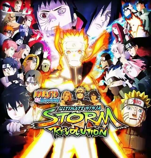 Naruto Shippuden Manga Download: Anime PC Games: Naruto Ultimate Ninja Storm Revolution PC