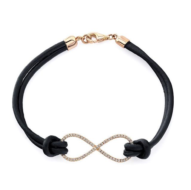 Infinity Bracelet Leather1