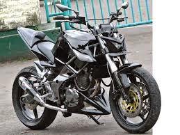 modifikasi motor honda mega pro street fighter