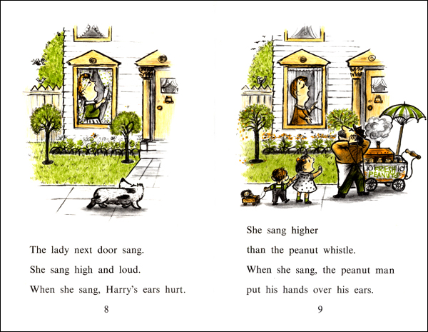 Happily Ever Tales Childrens Book Review Harry And The Lady Next Door