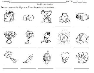 Pedagogia Século Xxi Atividades Para Formar Frases E Palavras