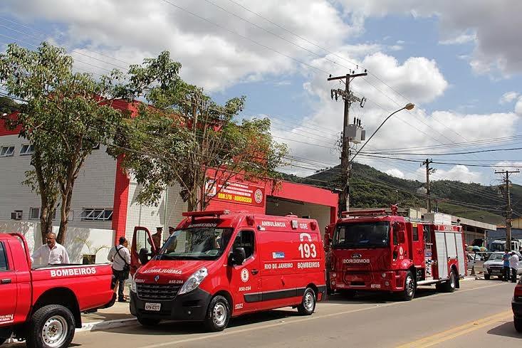Destacamento do Corpo de Bombeiros de Bonsucesso é inaugurado