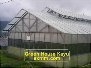 Gambar Green House Kayu