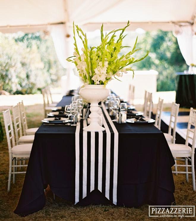 black white wedding ideas: I Am A Woman In Love: Wedding Inspiration: The Black