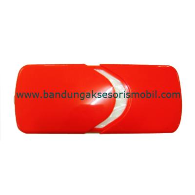 Box Tissue Plastik Exclusive Orange
