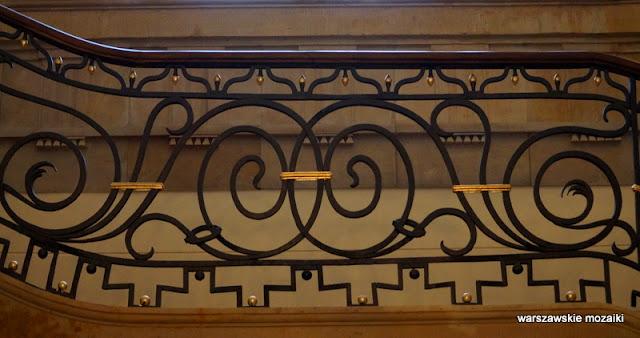 Warszawa Warsaw Krakowskie Przedmieście 32 przyuliczny pałac klasycyzm balustrada