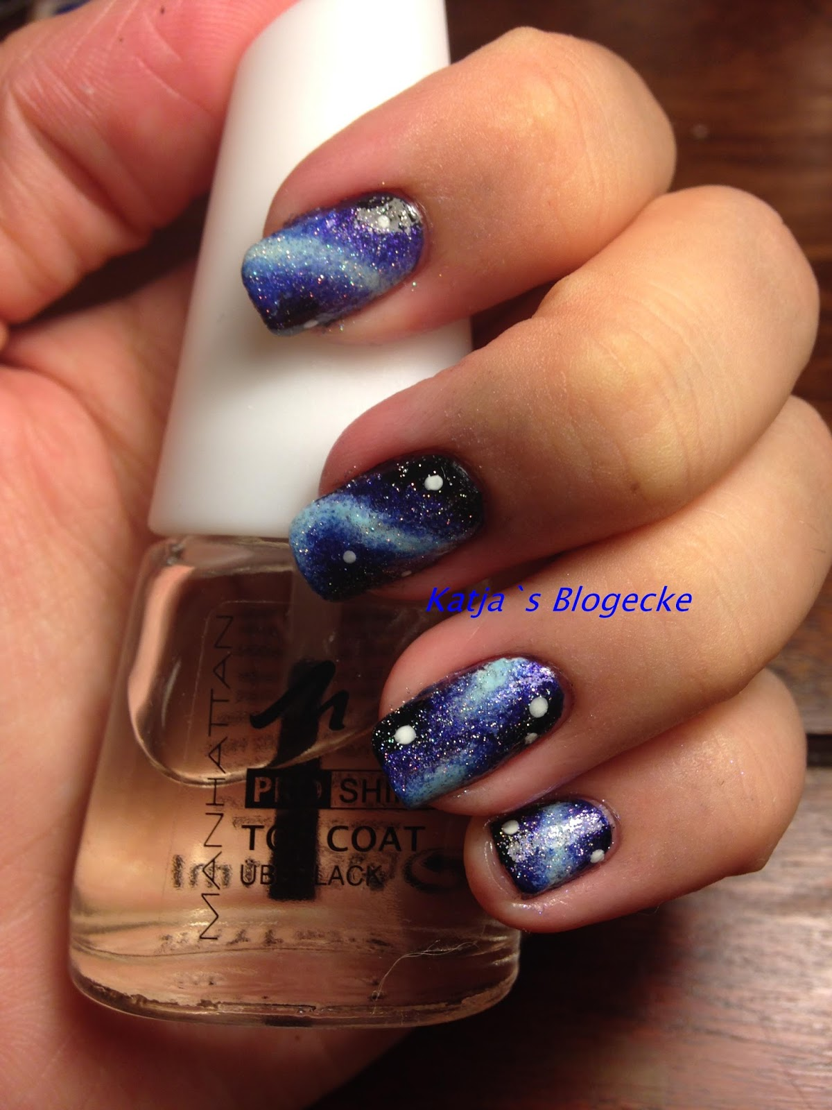 Katja\'s Blogecke: Nageldesign Galaxy