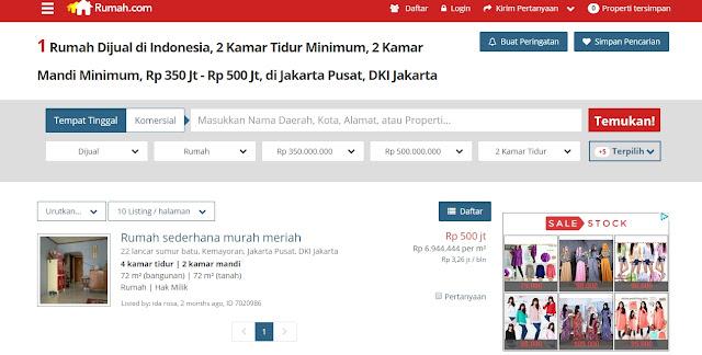 Hunian Murah di Kota Jakarta