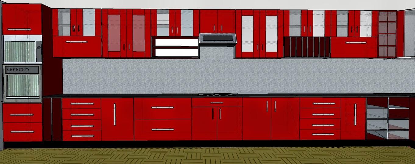 Colores de muebles de cocina alacena y bajo mesada varios - Fabricas de muebles de cocina en madrid ...