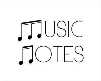 logos notas musicales