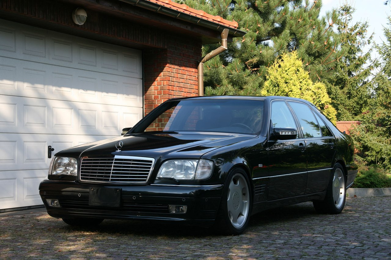mercedes benz w140 s600 lorinser black benztuning. Black Bedroom Furniture Sets. Home Design Ideas