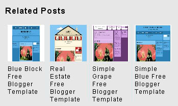 How To Add Related Posts With Thumbnail Links On Blogger