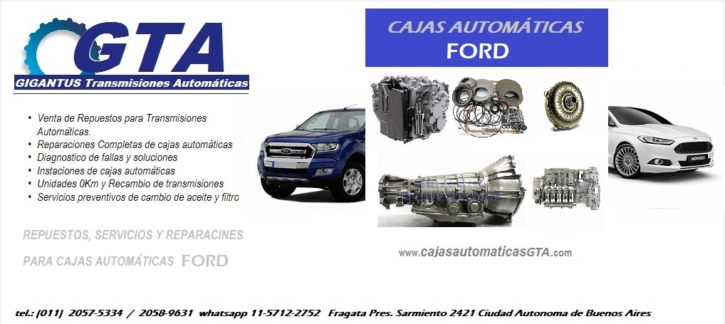 Cajas Automaticas Ford