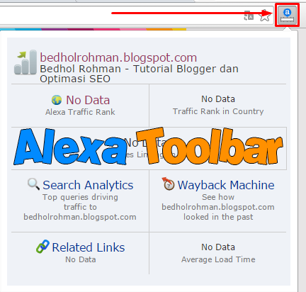 Cara Memasang Alexa Toolbar di Google Chrome