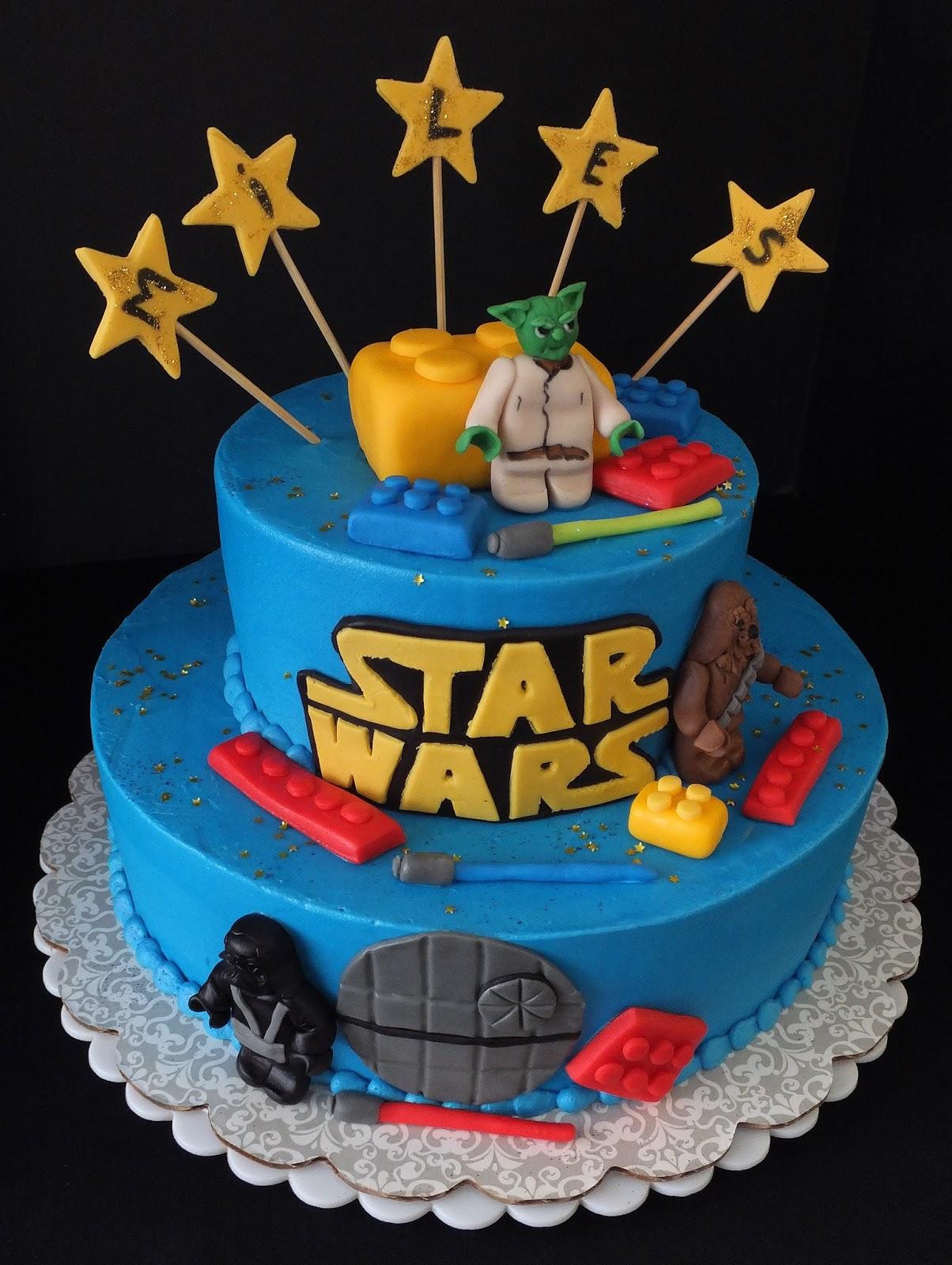 bccakes Star Wars Lego Cake