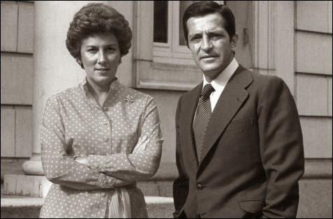 La esposa de Suárez murió de cáncer en el año 2001