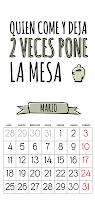 Calendario 2013 gratis marzo