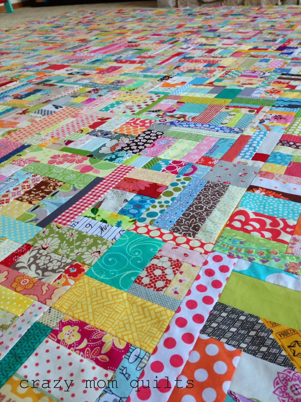 Crazy mom quilts scrap giveaway for Scrap quilt